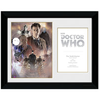 "Doctor Who 10th Doctor David Tennant Framed Collector Print 12"" x 16""-Gaming Merch-RETROBLE"