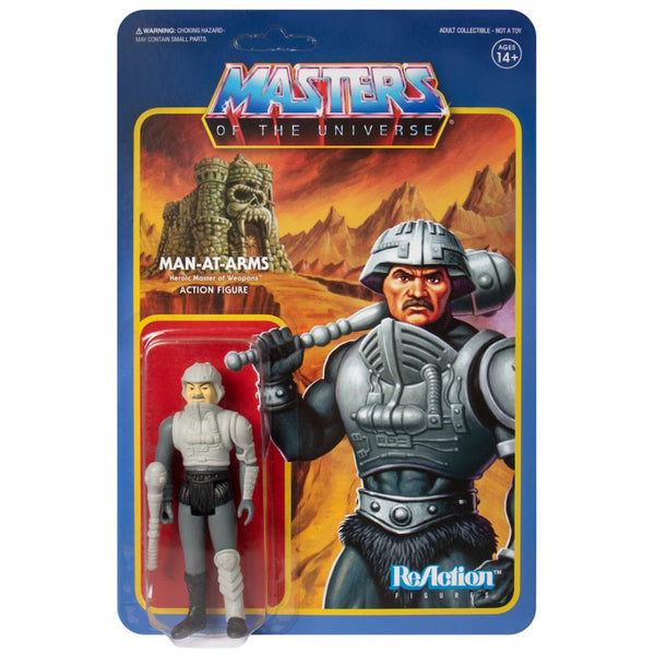 Masters of the Universe ReAction Action Figure Man-At-Arms (Movie Accurate)-miscellaneous-RETROBLE