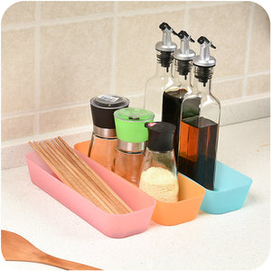 3pc Plastic Kitchen Storage Box Set