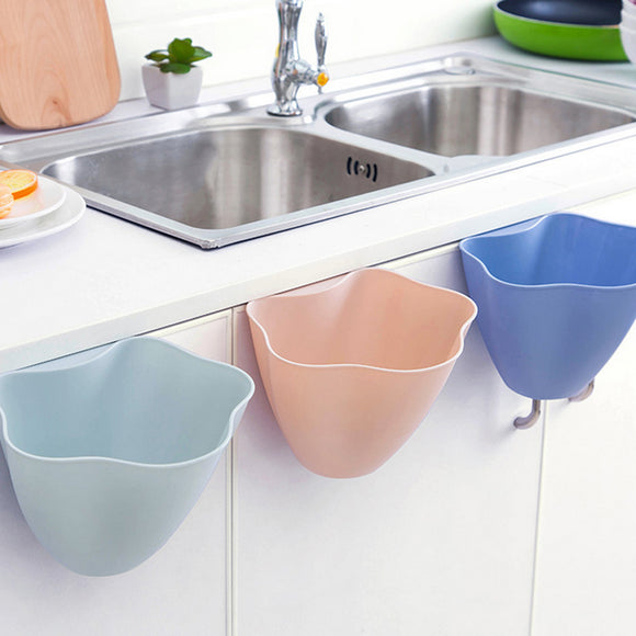 Handy 3pc Set of Kitchen Trash Baskets