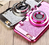 Fancy Iphone 6 7 8 & X Cases w/ Mirror