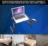Portable Folding Laptop Standing Desk With Mouse Pad