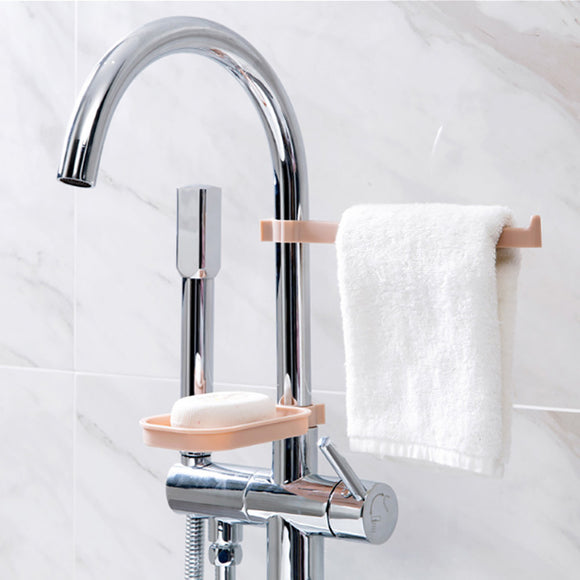 Soap and Towel Holder