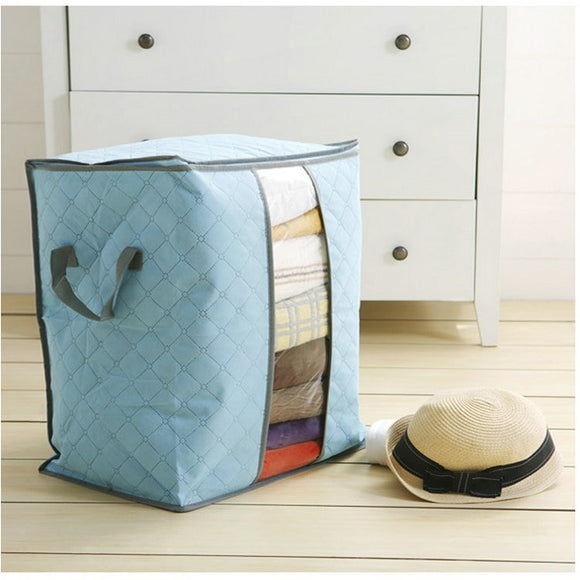 Quilt Zip Up Bag Blanket Organizer