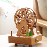 Carousel Musical Wooden Boxes