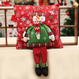 Santa Claus Cushions with Legs