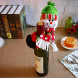 Christmas Wine Bottles Covers