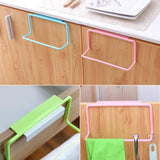 4x Kitchen Hanging Towel Storage Racks
