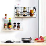 Wooden Wall Storage Rack