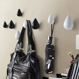 Wooden Water Drop Shaped Wall Hangers