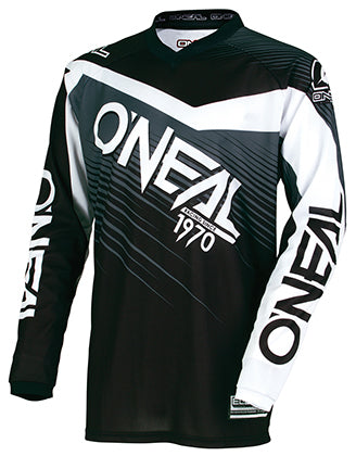 oneal-element-jersey-black-grey-front