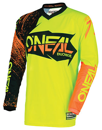 oneal-element-burnout-jersey-hi-vis-front