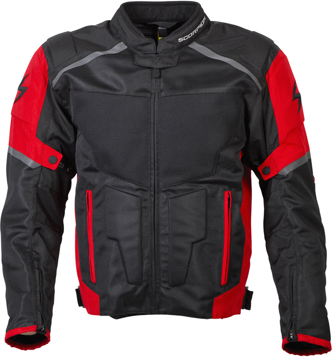 scorpion-influx-mesh-jacket-red-front