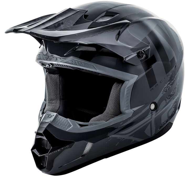 fly-youth-burnish-helmet-black-grey-front