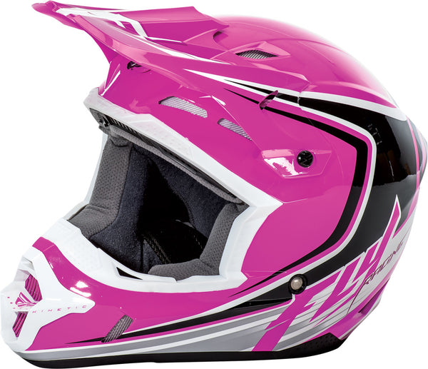 Fly Racing Kinetic Fullspeed Helmet Pink/Black/White