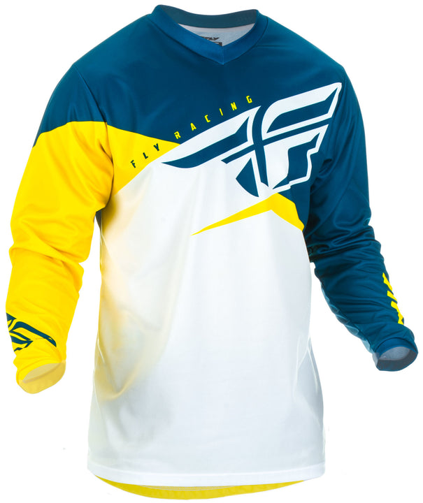 fly-racing-youth-f16-jersey-blue-yellow-front