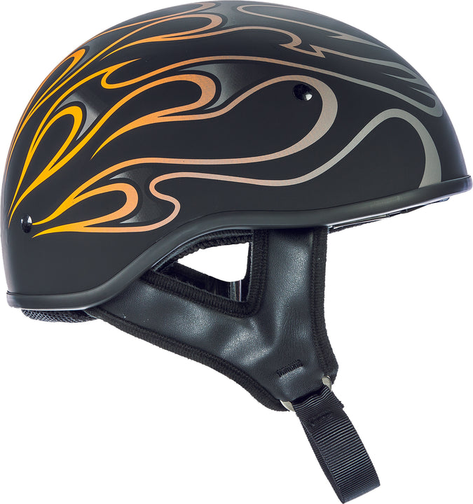 Fly Racing Street .357 Flame Half Helmet