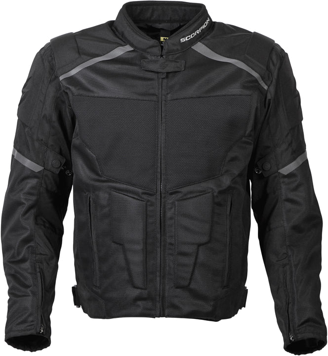 scorpion-influx-mesh-jacket-black-front