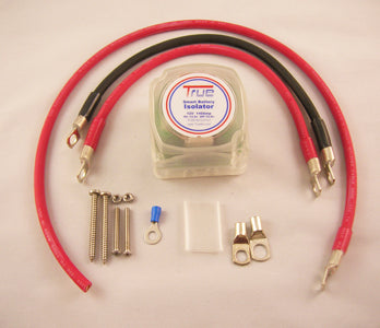 true am small dual battery isolator kit