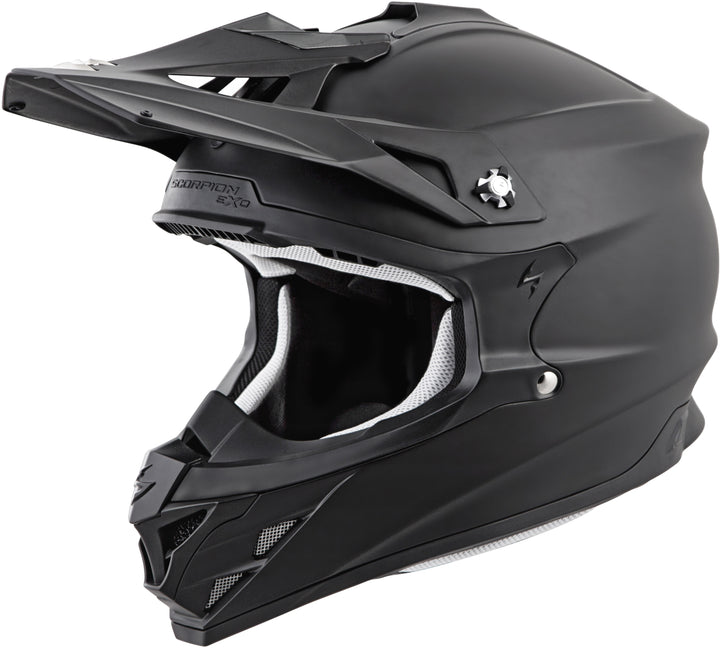 scorpion-vx-35-solid-matte-black-front