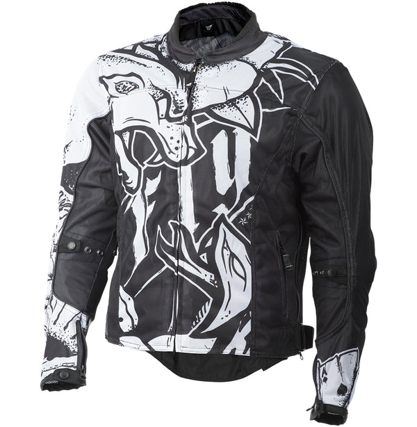 Fly Racing Street Flux Air Ink N' Needle Jacket