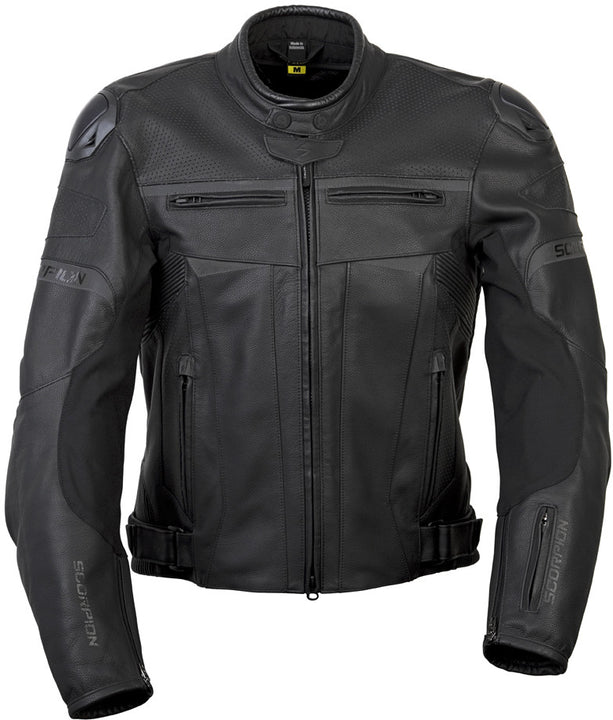 scorpion-raven-motorcycle-jacket-front