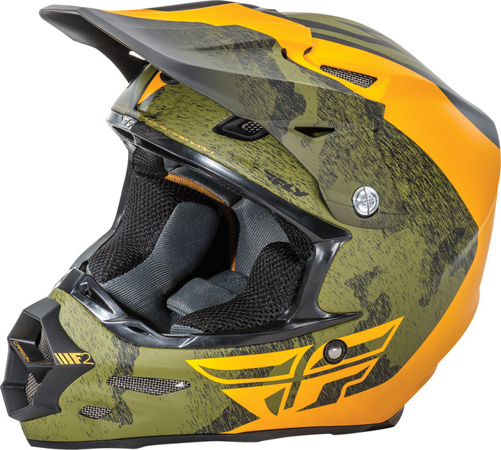 Fly Racing F2 Carbon Pure Helmet