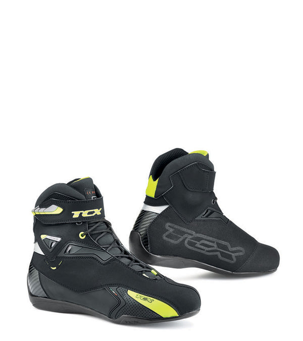 TCX Rush Waterproof Riding Shoe Boots Hivis