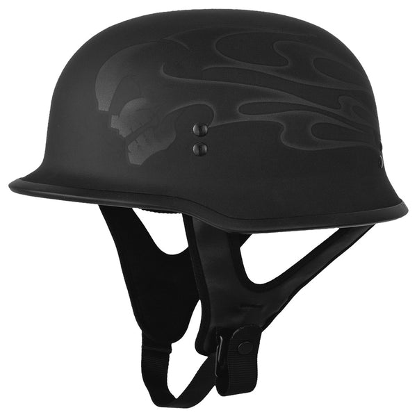 Fly Racing Street 9mm Helmet Ghost Skull