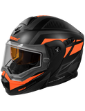 castle-x-cx950-blitz-snowmobile-helmet-orange-left