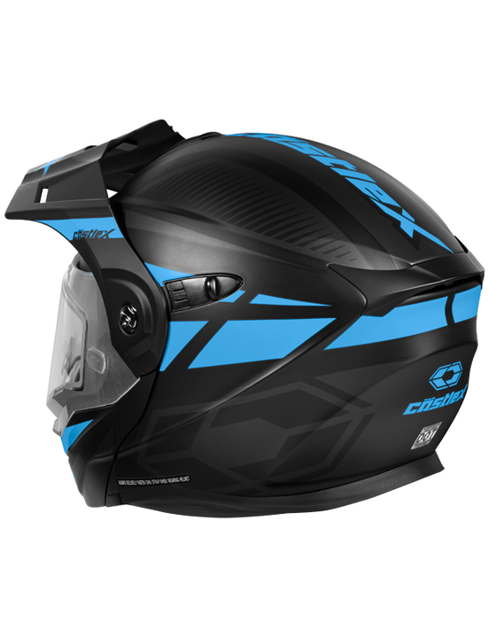 castle-x-cx950-blitz-snowmobile-helmet-blue-back