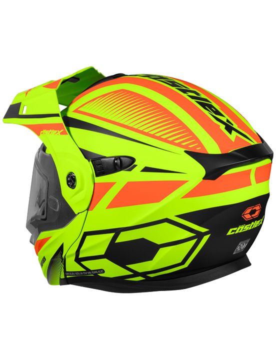 castle-x-cx950-blitz-snowmobile-helmet-orange-hivis-back