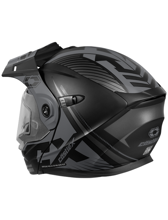 castle-x-cx950-focus-snowmobile-helmet-grey-back