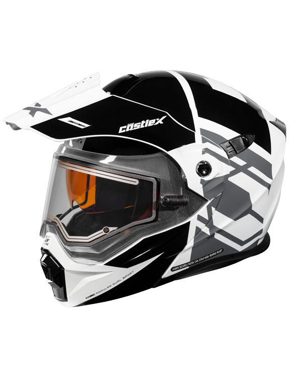 Castle X CX950 Hex Electric Shield Snow Helmet