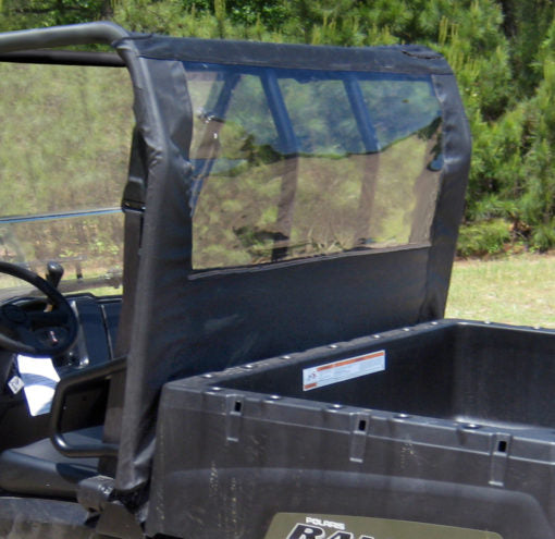 Seizmik Rear Dust Panel Polaris Mid-Size Ranger