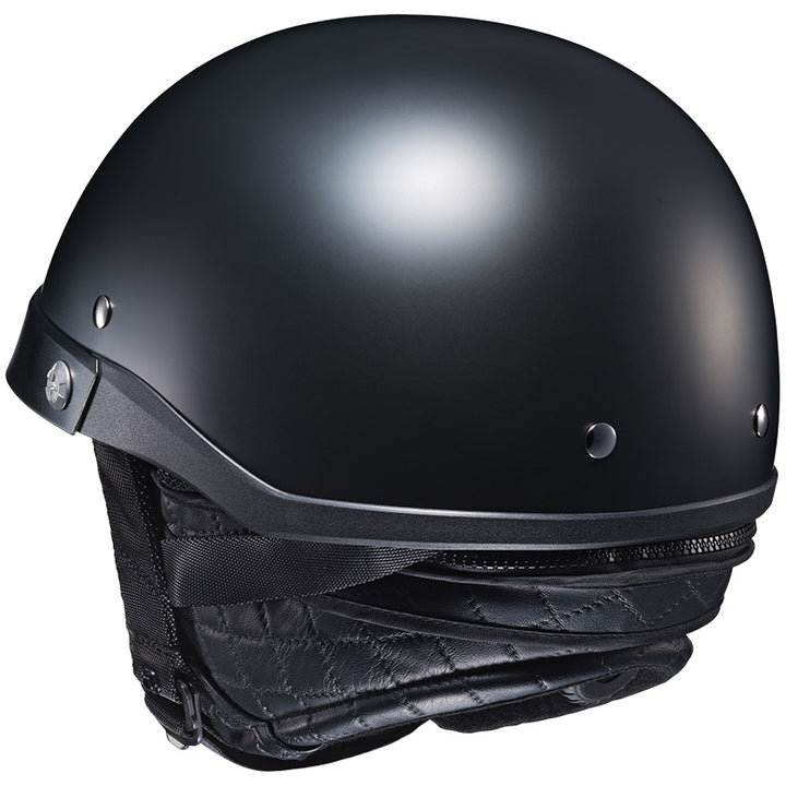 hjc-cl-ironroad-solid-helmet-matte-black-back
