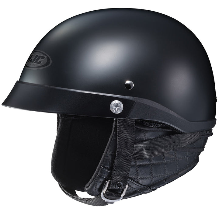 hjc-cl-ironroad-solid-helmet-matte-black-left