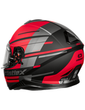 castle thunder 3 pitlane helmet red back