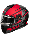 castle thunder 3 pitlane electric helmet red front