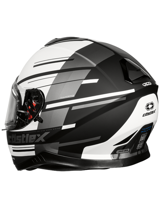 castle thunder 3 pitlane helmet white back