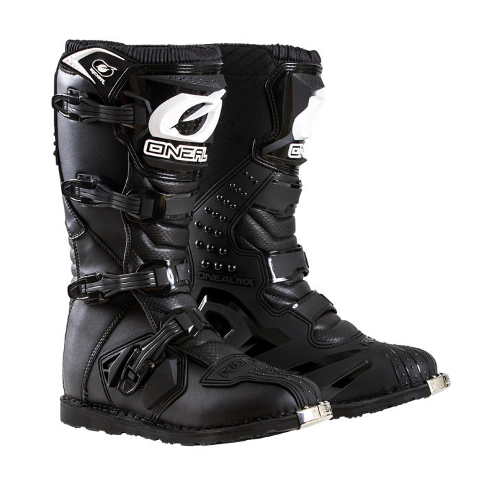oneal-rider-boot-black-front