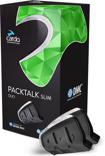 Cardo PACKTALK Slim Headset - Duo