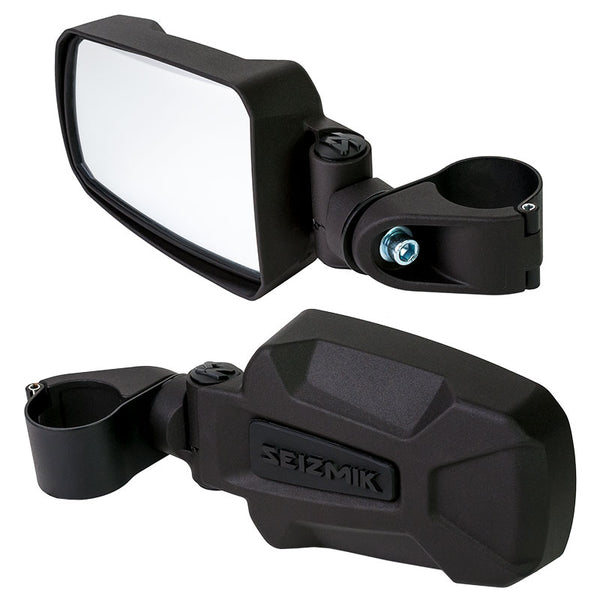Seizmik Pursuit Side View Mirrors 1.75""