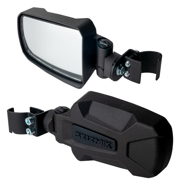 Seizmik Pursuit Side Mirrors Pro-Fit Polaris General and Rangers