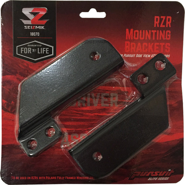 Seizmik RZR Side Mirror Mount Kit