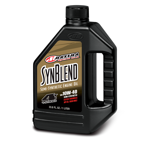 Maxima Synthetic Blend 4T Engine Oil