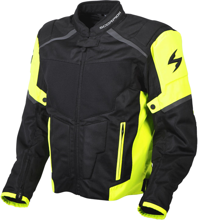 scorpion-influx-mesh-jacket-hivis-left