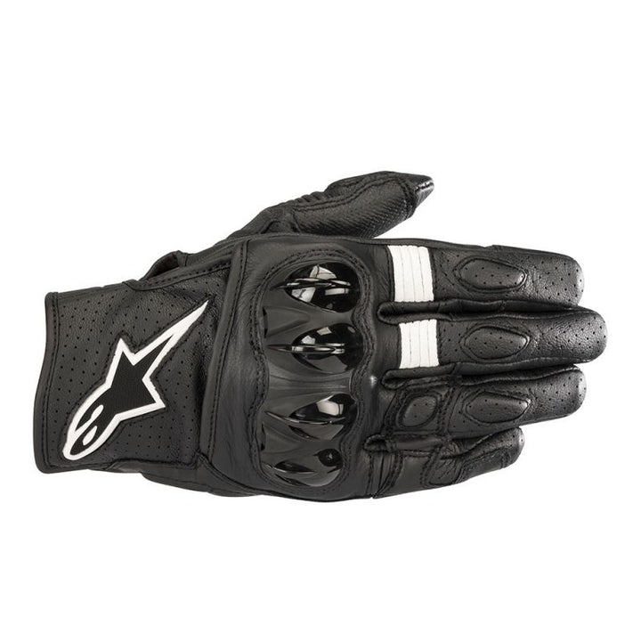 alpinestars celer v2 gloves black white