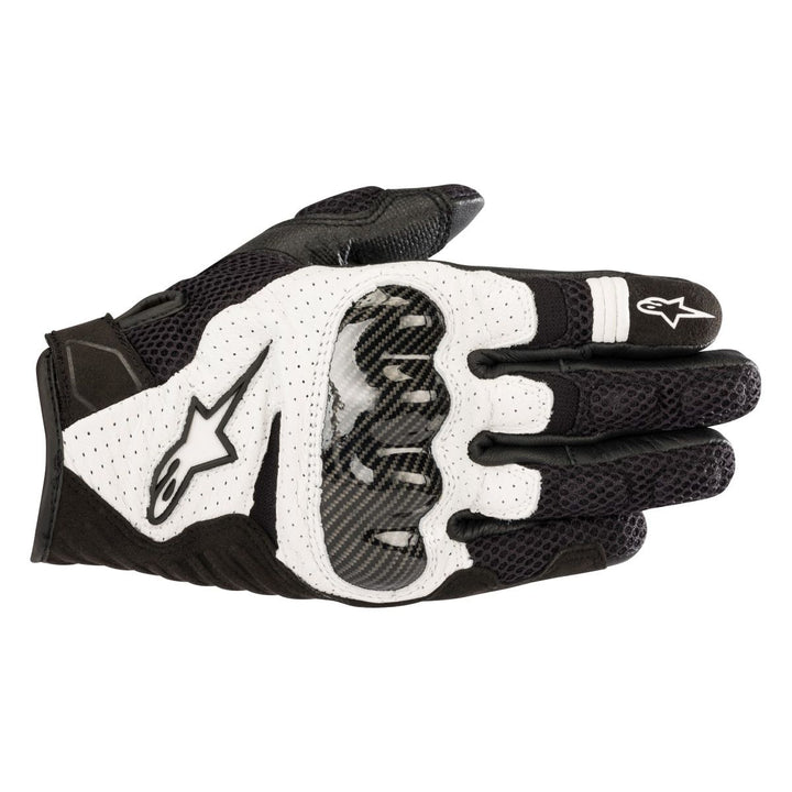 alpinestars smx air v2 gloves black white