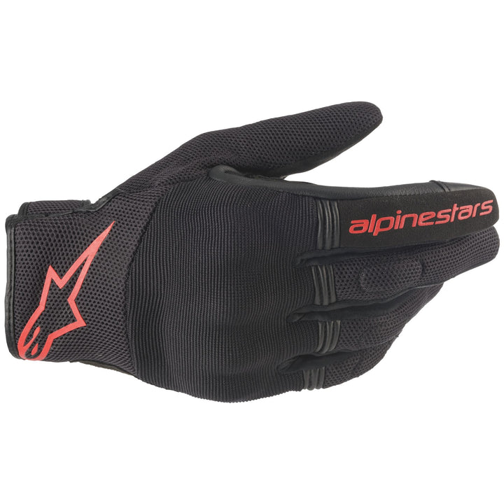 alpinestars copper gloves red